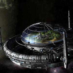 Космическая разведка. Станция в космосе